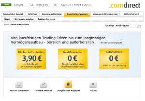 comdirect bank informer