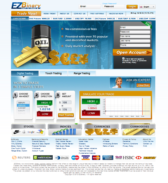 Binary options varengold