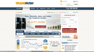 traderush webseite