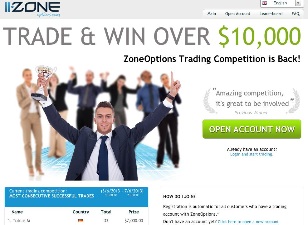 trading wettbewerb