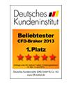 Deutsches Kundeninstitut-GKFX-Auszeichnung
