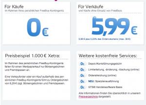 Onvistabank-Preise